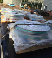 Packed coils for dispatch
